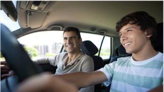 La conduite supervisée avec la voiture familiale